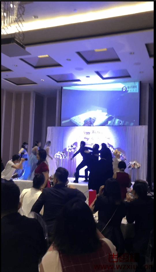 茄子姐夫事件门新娘不堪家暴出轨新郎姐夫新郎婚礼播放出轨视频