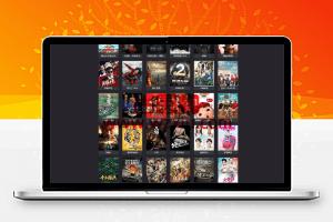 PHP暗色风格响应式在线视频影视电影网站源码 自适应手机移动端